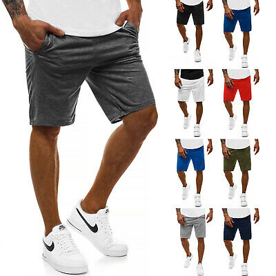 Kurzhose Sporthose Jogging Fitness Unifarben Sportshorts Herren OZONEE 9729 MIX