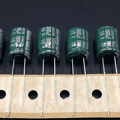 50pcs 10v1000uf 10x12.5 Suncon Sanyo Ca Miniature Low Impedance Capacitor