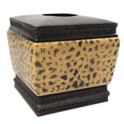 Popular Bath Wild Life Bathroom Resin Tissue Box Cover Bath
