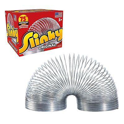 The Original Slinky Walking Spring Toy, Metal Slinky, Easter Basket Stuffers,...