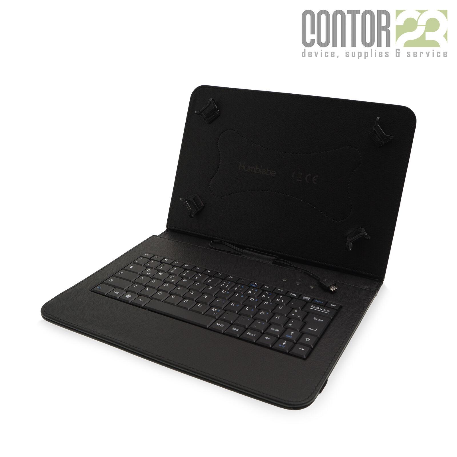 """Tablet Schutzhülle Tasche + USB-Tastatur[9.7"""" Samsung Galaxy Tab A SM-T550/T555]"""