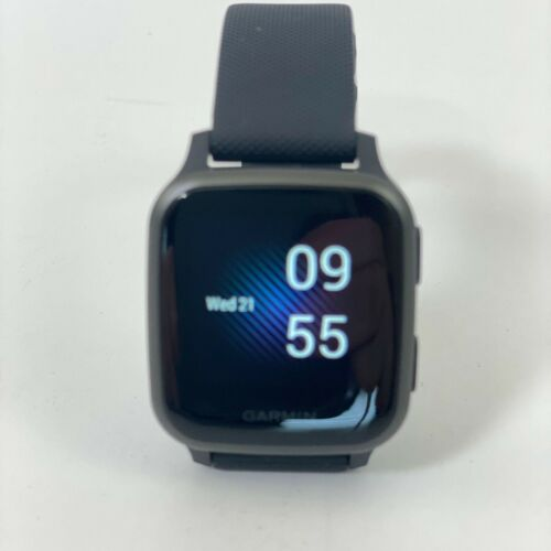 Garmin Venu SQ Music Edition GPS Smartwatch Black Case/Black Band