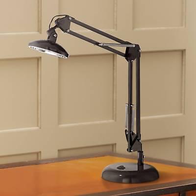 Modern Task Lamp - Modern Architect Task Lamp LED Spring Loaded Arm Glossy Black for Bedroom Office