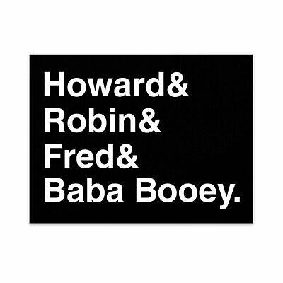 """Howard Stern """"Staff Origins""""   Sticker"""