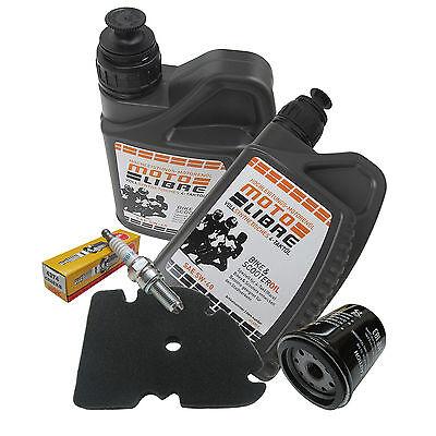 Inspektion Ölwechsel Set mit 5W40 ÖL für Piaggio MP3 250ccm M472 Bj.2006-2010