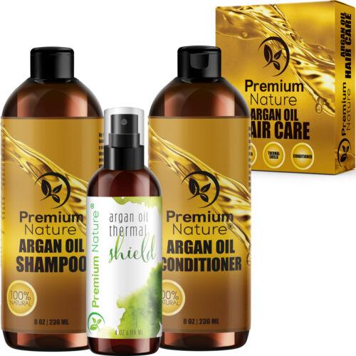 Argan Oil Hair Treatment Gift Set - Shampoo, Conditioner,  P