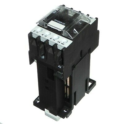 25 Amp 4kW 4 Pole Contactor 24V Coil for DIN Rail Mounting...