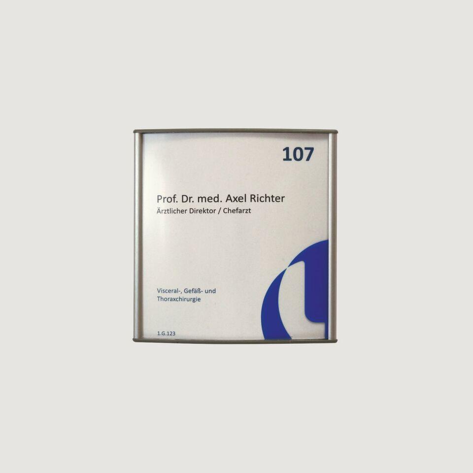 Türschild | Büroschild | Infosoft Vista | 150x150mm in Niedersachsen - Vechelde