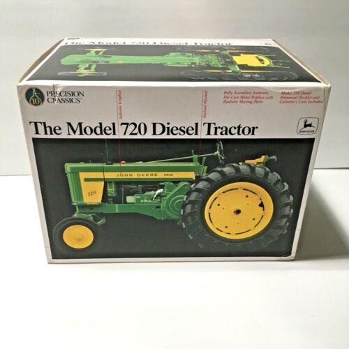 ERTL #5832 1/16 John Deere Model 720 Diesel Tractor Precision Classic #10 NOS