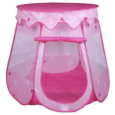 Spielzelt Spielhaus Gartenzelt Spielzeug Kinderzimmer Schloss in rosa pink