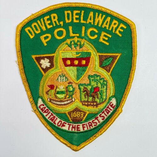 Dover Police Delaware DE Patch