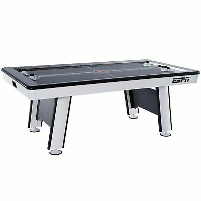 84 Inch Air Hockey Table - NEW ESPN Premium 84 Inch Air Powered Hockey Table with LED Touch Screen Scorer