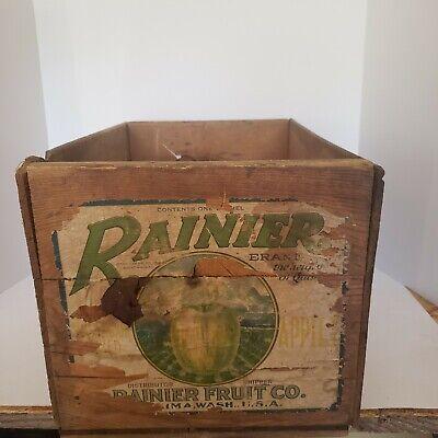 CRATE LABEL VINTAGE STOCK GRAPE PICKER FARM WORKER RARE 1940S ORIGINAL FIELD BOX