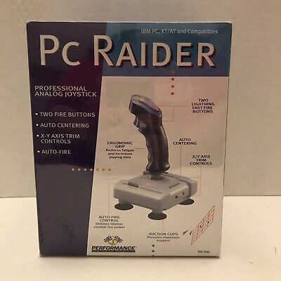 NEW PC Raider Joystick SV-206 for IBM PC XT/AT Compatible Retro Gaming