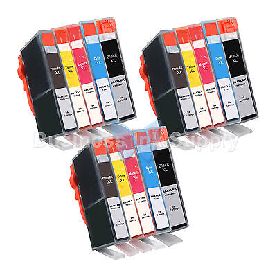 15 Pack 564xl Ink Cartridge For Hp Photosmart 7510 7520 7...