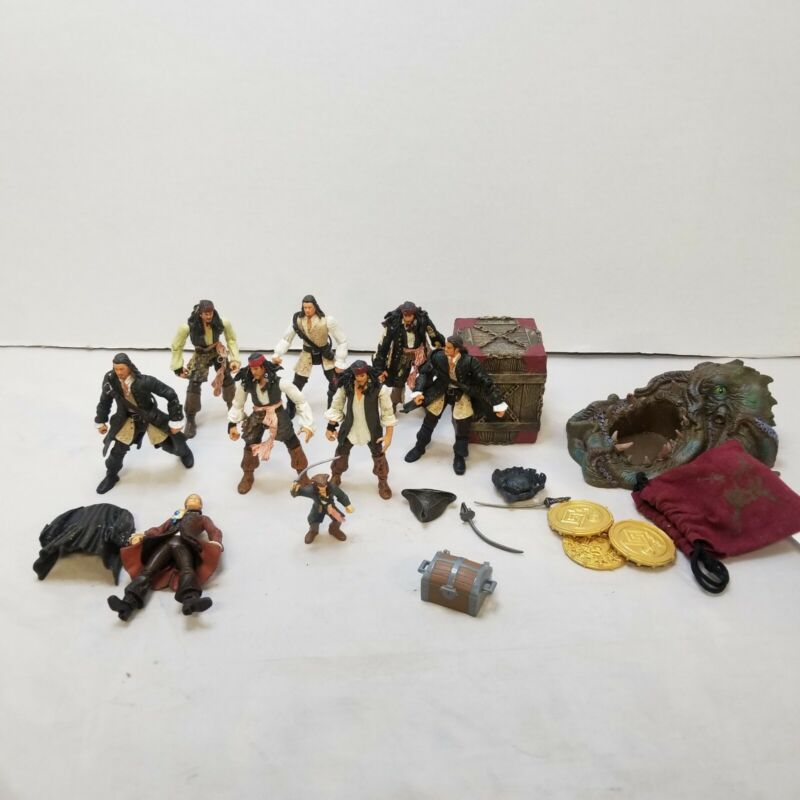 """Pirates Of The Caribbean 4"""" Action Figures Loose Weapons Accessories"""