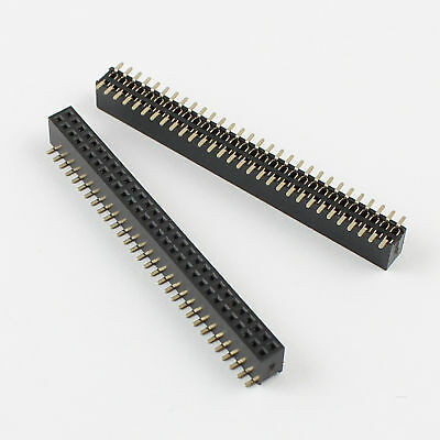 5pcs Pitch 1.27mm Female 2x30 Pin 60 Pindouble Row Smt Pin Header Strip