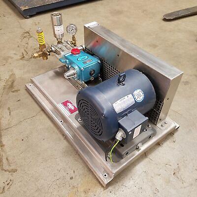 Dultmeier Sales Du Pm390 Cat Pump Medium Pressure Pump Unit. 12gpm 5hp 600psi