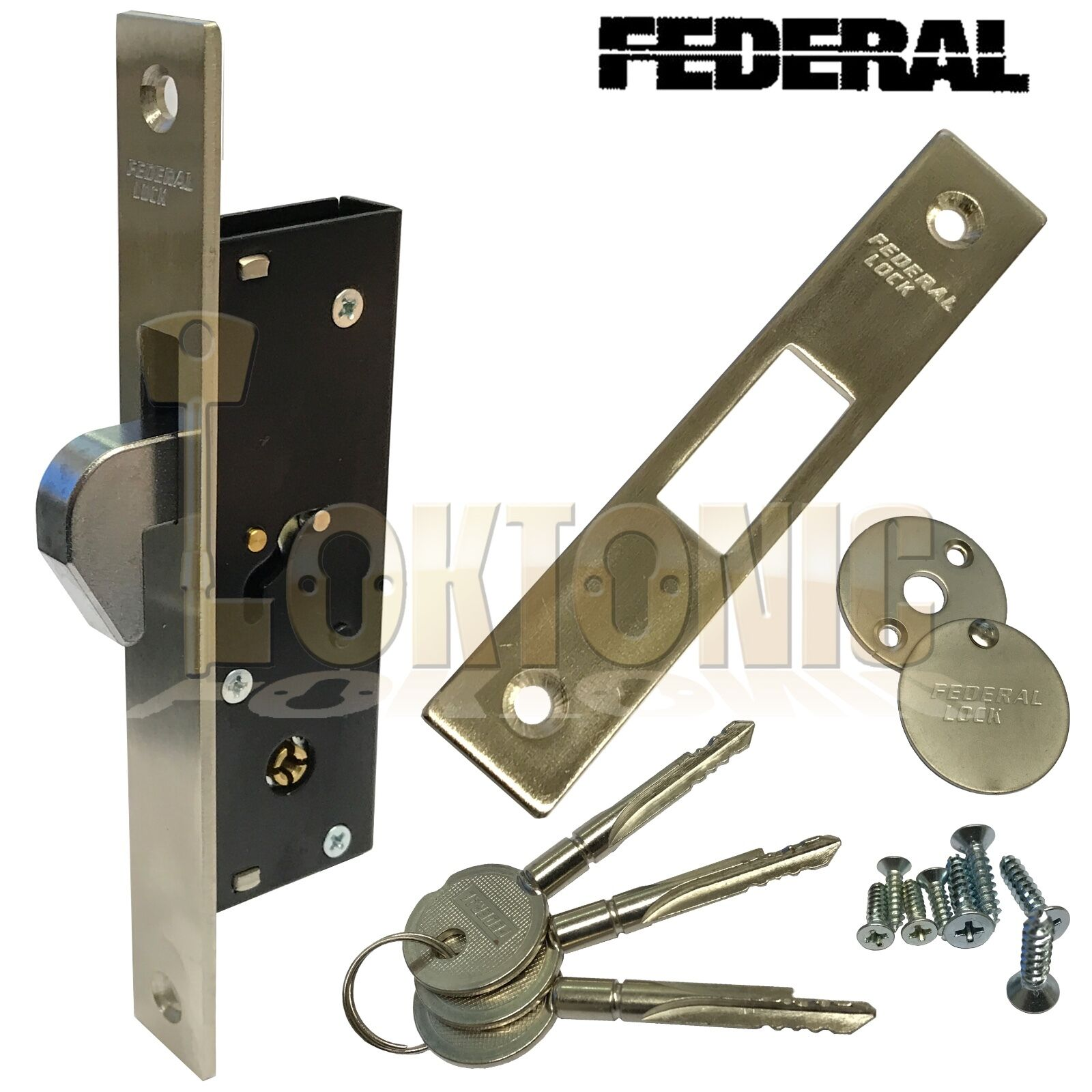 Federal Fd Tx190h Narrow Stile Sliding Van Door Hook Bolt