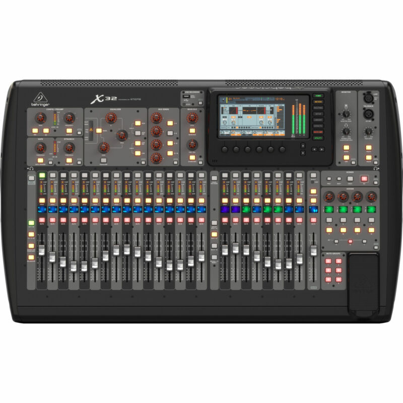Behringer X32 Digital 32-Channel Mixer Console