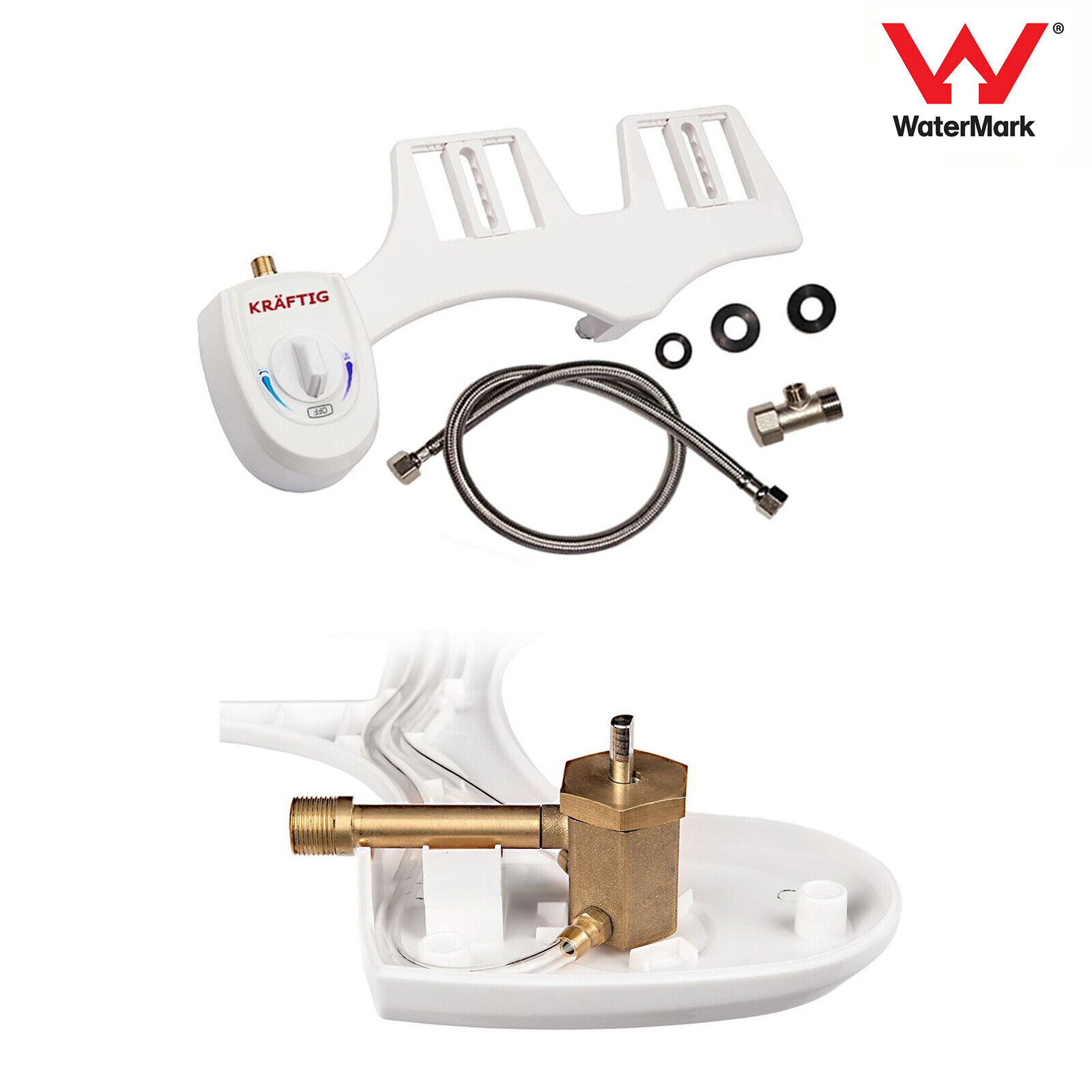 Toilet Bidet Seat Spray Istinja Water Bathroom Home Sanitati