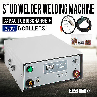 220 V Stc-2500 Capacitor Discharge Cd Stud Welder Spot Welding Machine M3--m10