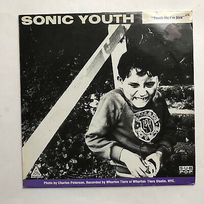 Sonic Youth Halloween 12 (SONIC YOUTH MUDHONEY - TOUCH ME I'M SICK * 12 INCH VINYL * FREE P&P UK * BFFP)
