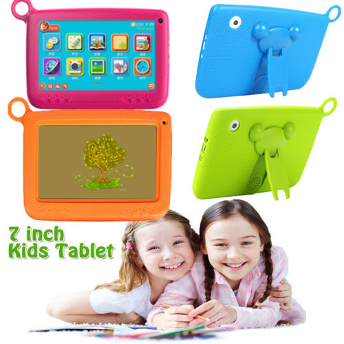 """Boys Girls Kids Tablet PC Android 4.4 7"""" HD Screen Children iPad Gifts For Study"""