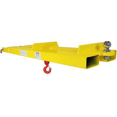 Titan Forklift Mobile Crane Lifting Hoist Jib Boom Lifting Hook Receiver Ball