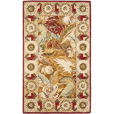 Safavieh Bergama Multi Wool Area Rug 3' x 5' 5 Bergama Rectangle Rug