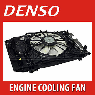 DENSO Radiator Fan - DER32009 - Engine Cooling - Genuine OE Replacement Part