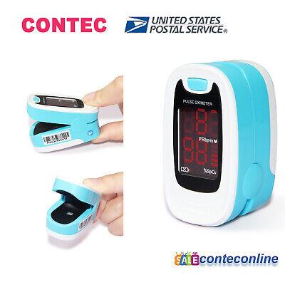 Usa Shipping Fda Pulse Finger Oximeter Blood Oxygen Spo2 Monitor Case Cms50m