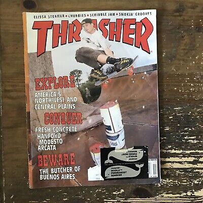 THRASHER magazine November 1998 SKATEBOARDING/SKATEBOARD