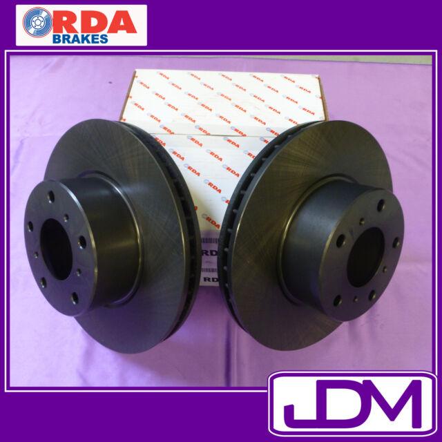 RDA FRONT BRAKES DISC Rotors HOLDEN JACKAROO UBS 25, 87, 92, 98 ABS & NON