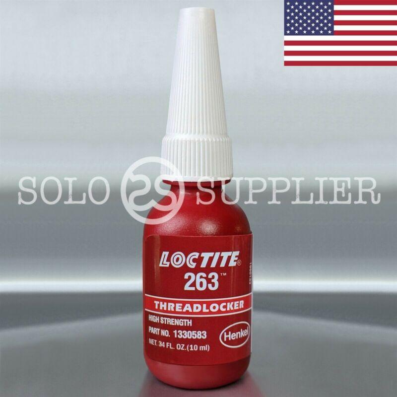 Loctite 263 Red High Strength Threadlocker 10ml - USA
