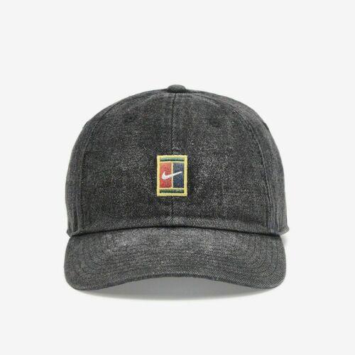 Nike Court Aerobill Heritage 86 Obsidian Tennis Hat Cap Adjustable CI4434-010