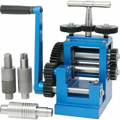 """3"""" (80mm) Combination Rolling Mill with 5 Roller Jewelry Design Tool"""
