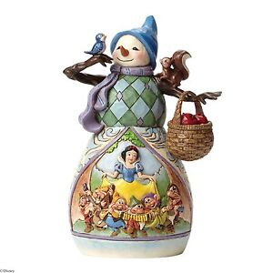 Disney Traditions 4046020 Snowman Snow White  New & Boxed