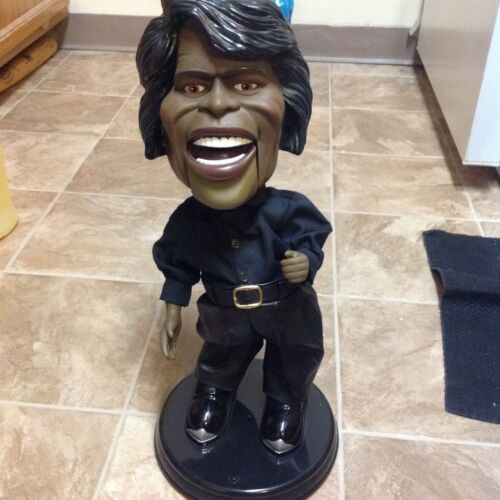 Dancin Shoutin Singing James Brown Electronic Animated Toy by Gemmy loose broke