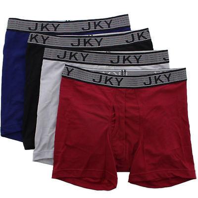 JKY by Jockey Mens Athletic Sport Performance Microfiber Boxer Briefs (Athletic Boxer Briefs)