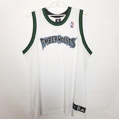 Authentic Nba Basketball Jersey - Mens NBA Basketball Minnesota Timberwolves Authentic Blank Team Jersey, White 48