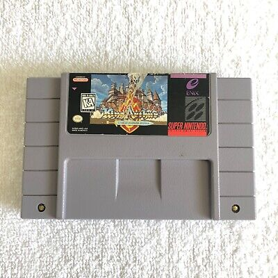 King Arthur and the Knights of Justice (Super Nintendo) Authentic SNES Game