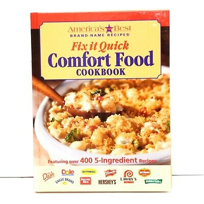 America's Best Brand Name Recipes Fix it Quick Comfort Foods Cookbook (Best Fish Food Brand)