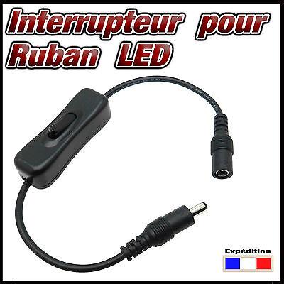 856# câble avec interrupteur pour ruban LED - STRIP LED