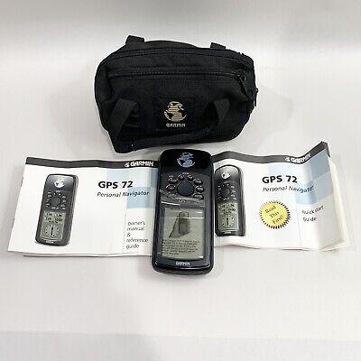 Garmin GPS72 GPS 72 Handheld Hiking Hunting Geocaching Personal GPS Navigator
