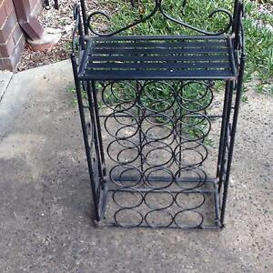 Wine Rack (cast iron) Hampton East Bayside Area Preview
