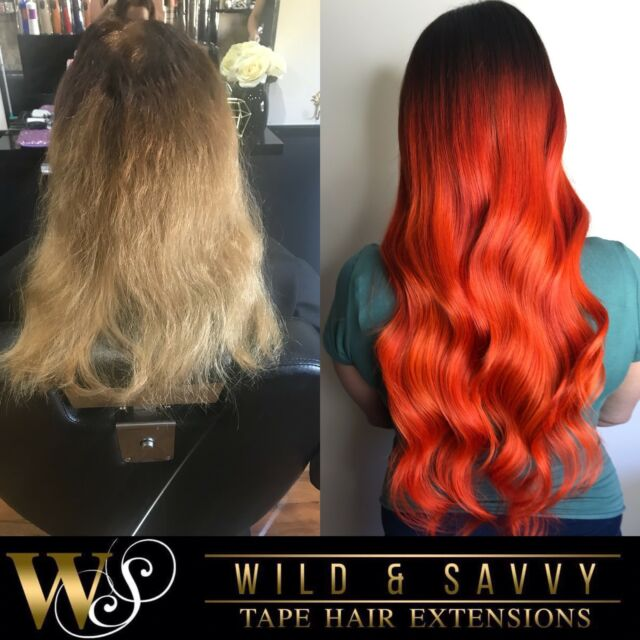Tape Hair Extension Specialists Afterpay Zippay Hairdressing