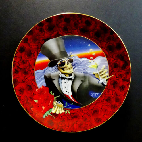 Grateful Dead Plate Stanley Mouse One More Saturday Night 1997 Hamilton Plates