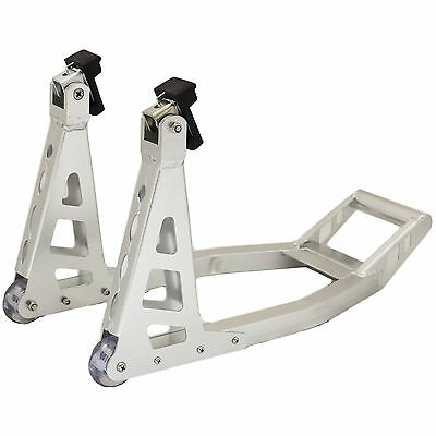 RYDE ALUMINIUM ALLOY FRONT PADDOCK STAND FOR MOTORBIKE/SUPERBIKE/BIKE/MOTORCYCLE
