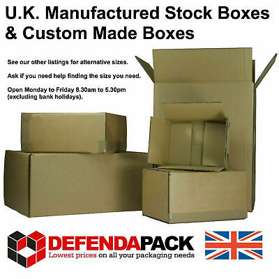 10 Cardboard POSTAL SHIPPING CORRUGATED POST BOXES 11x6x4